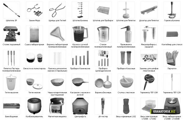 хим посуда в картинках
