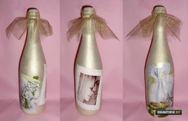 Декорирование свадебной корзины своими руками