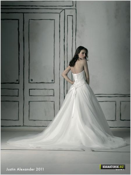 Свадебные платья justin alexander