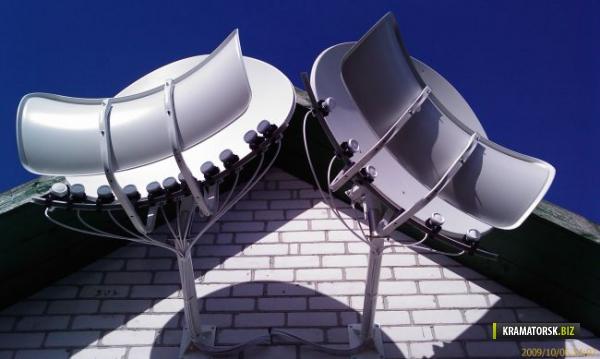 Тороидальная спутниковая антенна своими руками