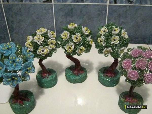 Деревья из бисера, Одесса