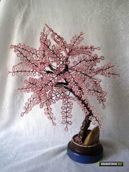 деревья из крупного бисера фото - Практическая схемотехника.