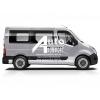 Установка (врезка)  автостекла на Renault Master,  Opel Movano,  Nissan Interstar (10-)